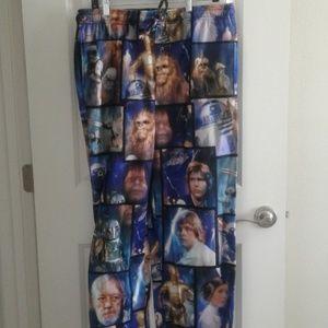 Star Wars flannel sleep pants sz L
